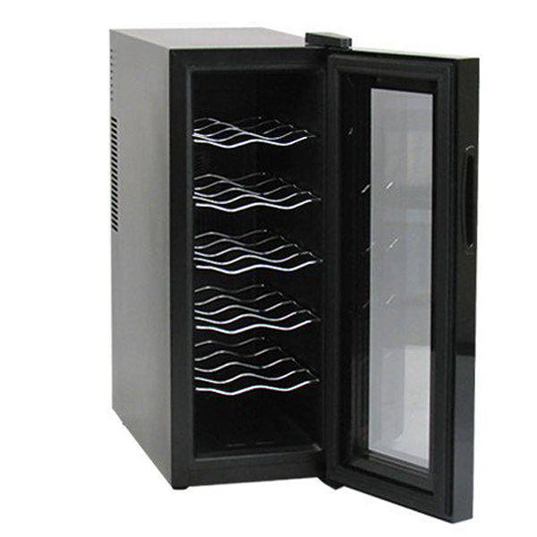 SISのワインセラーが激価 騒音や振動が少ないペルチェ方式 12本収納ワインセラー BCW-35C SIS ワインセラー ワイン収納 生活家電 新作入荷!! インテリア 保管 ペルチェ方式 爆安