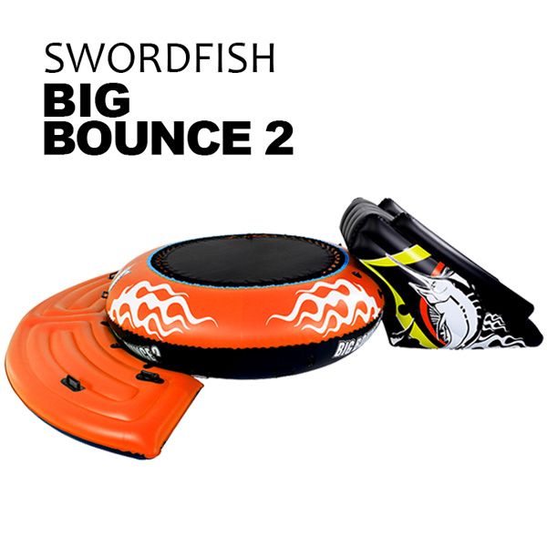 【ポイント2倍】トーイングチューブ big bounce2【橙】(ゴムボート・ビニールボート)[GF-018-OR]- SIS トーイングチューブ ゴムボート ビニールボート アウトドア