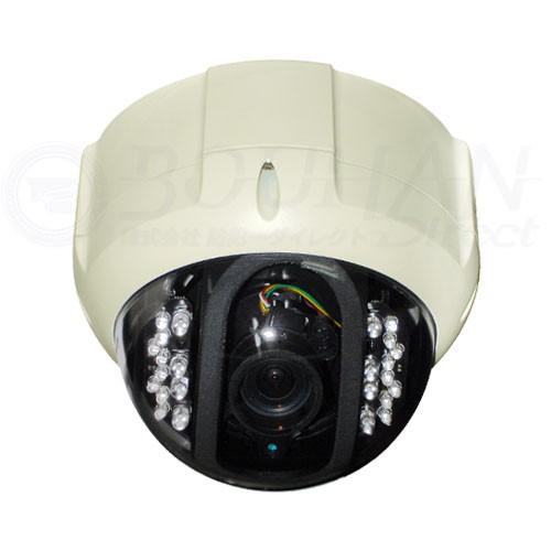 防犯カメラ 237万画素 屋外用 ドーム型 赤外線 LED 24個 EX-SDI バリフォーカルレンズ 監視カメラ 家庭用 SONY Exmor CMOSセンサー搭載 EHD7600SETL-C