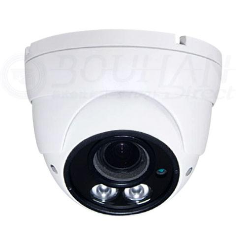 防犯カメラ 屋内用 スーパーハイパクー IR-LED 2個 AHD TVI SD バリフォーカルレンズ 監視カメラ SONY 2.2メガピクセル CMOSセンサー搭載 HSD-HSR46EQC-24