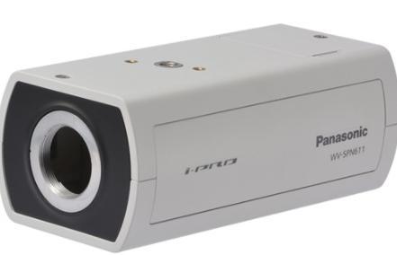 WV-SPN611 ボックスNWカメラ(レンズ・取付金具別売)
