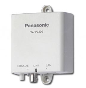 PoE給電機能付 同軸-LANコンバーター WJ-PC200 ※ 3/27入荷予定です
