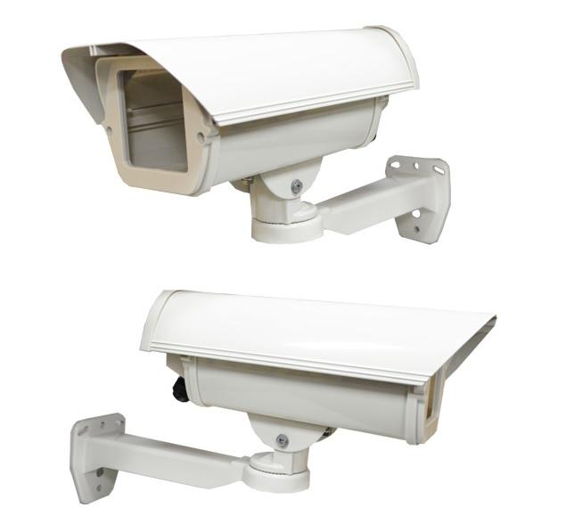 防犯カメラ用ハウジング&ブラケットセット AL-606SET
