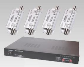 HD-SDI 4chワンケーブルカメラシステム 重畳電源装置 YG-CHJ-SDI4ch
