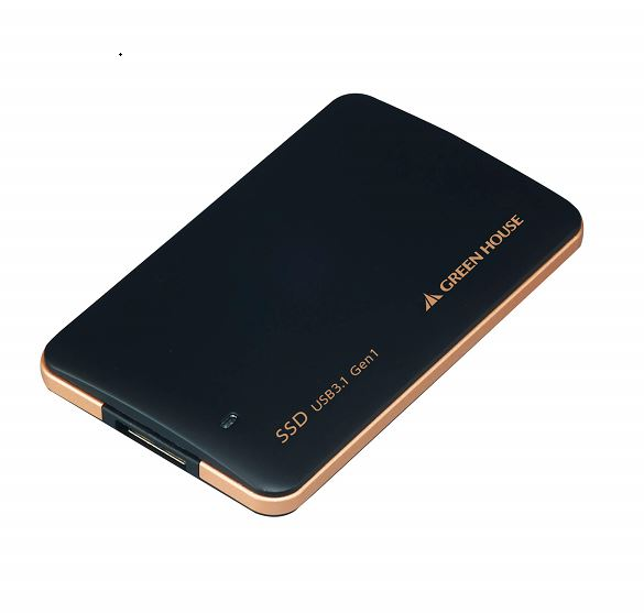 USB3.1 Gen1 外付けSSD GH-SSDU3Bシリーズ USB3.1 Gen1対応 小型・軽量な外付けSSD GH-SSDU3B480