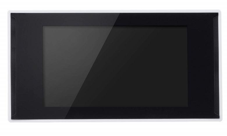 店頭での販売促進に最適なデジタルサイネージ端末 7型ワイド液晶 電子POP 取付金具付きGH-EP7E-WH