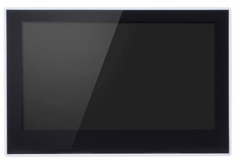 店頭での販売促進に最適なデジタルサイネージ端末 10型ワイド液晶 電子POP 取付金具付き GH-EP10B-WH
