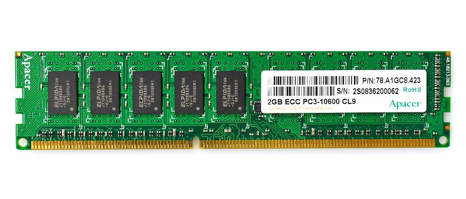 GH-DXT1066-*ECシリーズ デスクトップPC向け 1066MHz(PC3-8500)対応 240pin DDR3 SDRAM GH-DXT1066-4GEC