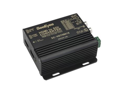 【SeeEyes】HDMI→HD-SDIコンバータ SC-HDT0801S 電源アダプター別売