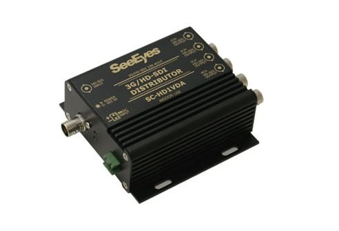 【SeeEyes】HD-SDI分配器 SC-HD1VDA 電源アダプター付属