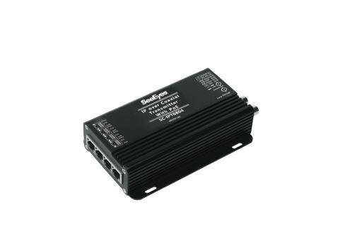 【SeeEyes】12V/PoE給電機能付 LANコンバータ SC-IPT0804