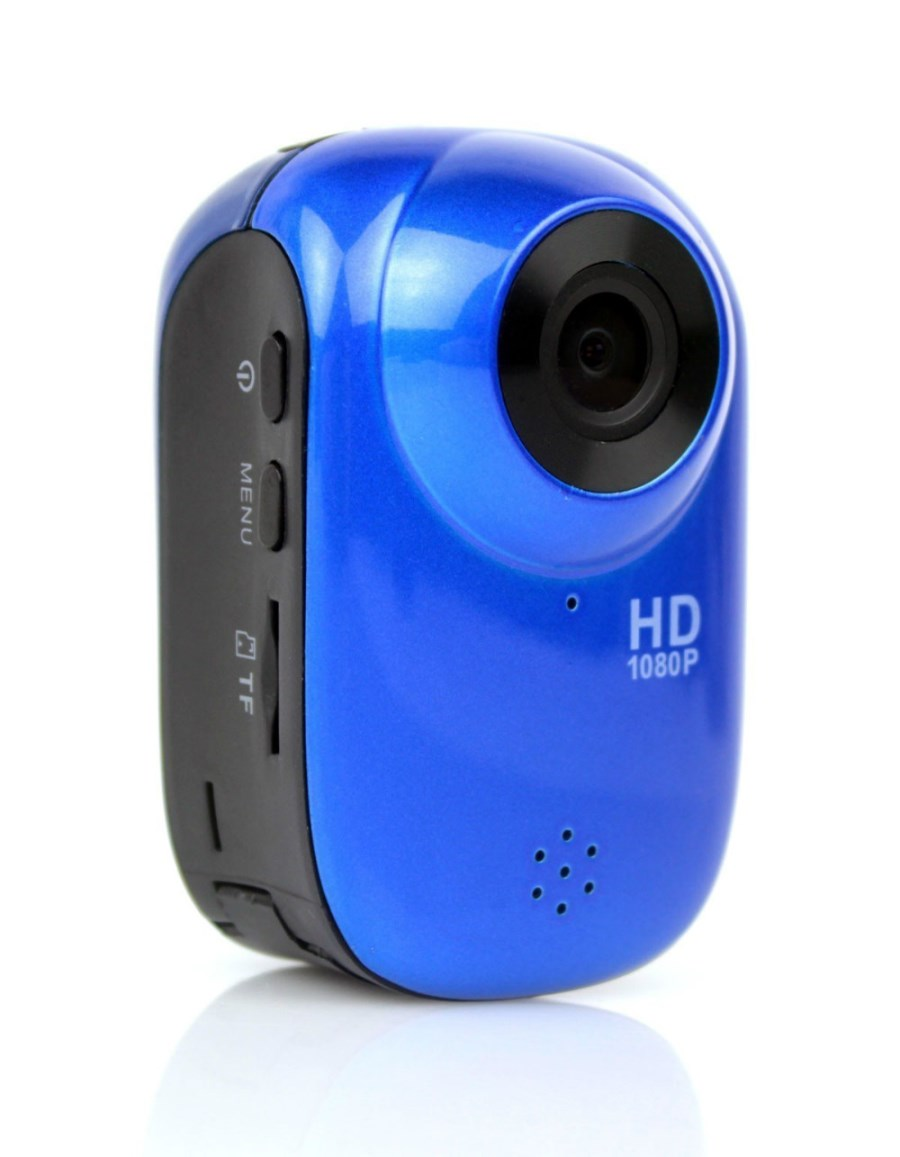 ウエラブルスポーツ用ハイビジョンカメラ(青色)