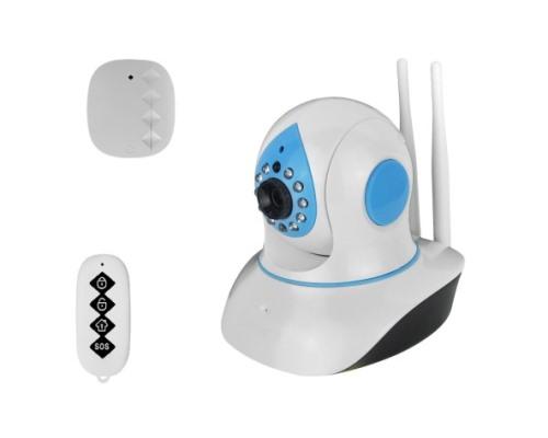 有線/無線LAN対応スマートホームセキュリティカメラセット
