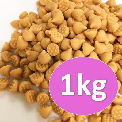 倉 森永 キャラメルチョコチップ 1kg チャック付スタンドパック入 セール価格 パン材料 菓子材料 トッピング