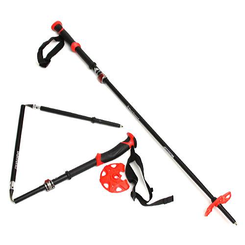 【送料無料】 BURTON X BLACK DIAMOND COMPACTOR POLES Black/Red バートン x ブラックダイヤモンド コンパクター ポール 国内正規品 スノーボード スプリットボード ハイク バックカントリー 送料区分:S
