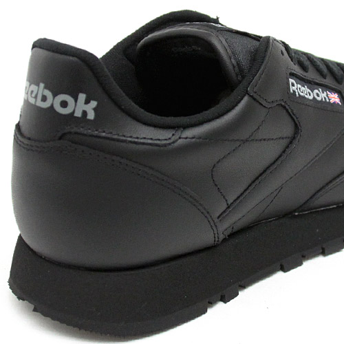 The classic postage division for the 19FW reebok CL LTHR INT black Reebok classical music leather sneakers shoes shoes men man: S