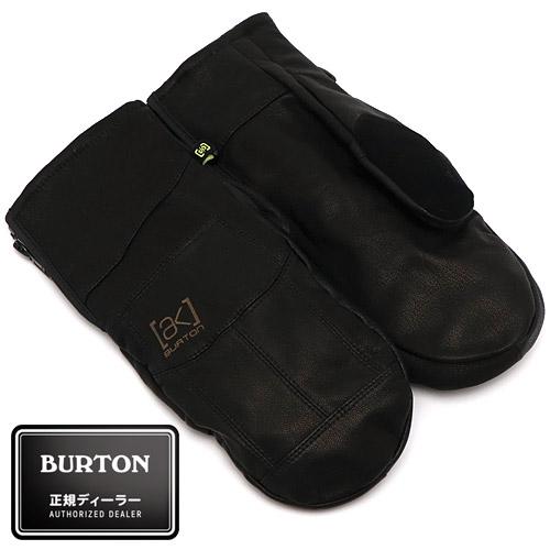 【送料無料】 2019/2020 BURTON [ak] Leather Tech Mitt True Black バートン レザー テック ミット 国内正規品 スノーボード グローブ ユニセックス 男性 女性 送料区分:S