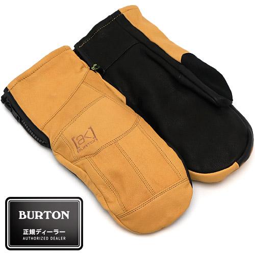 【送料無料】 2019/2020 BURTON [ak] Leather Tech Mitt Rawhide バートン レザー テック ミット 国内正規品 スノーボード グローブ ユニセックス 男性 女性 送料区分:S