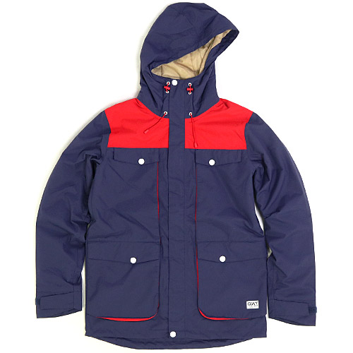 2015/2016 Wear Colour BLOW JACKET Patriot Blue ウェアカラー BLOW ジャケット 国内正規品 スノーボード ウエア メンズ 男性用 送料区分:M
