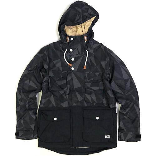 2015/2016 Wear Colour SHELTER JACKET Black Ceramic ウェアカラー シェルター ジャケット 国内正規品 スノーボード ウエア メンズ 男性用 送料区分:M
