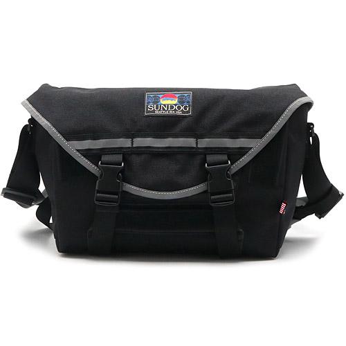 20SS SUNDOG RAIN CITY MINI Black W43 x H27 x D11cm サンドッグ レイン シティ ミニ 国内正規品 バッグ ショルダーバッグ メッセンジャーバッグ 鞄 サコッシュ付き 送料区分:M