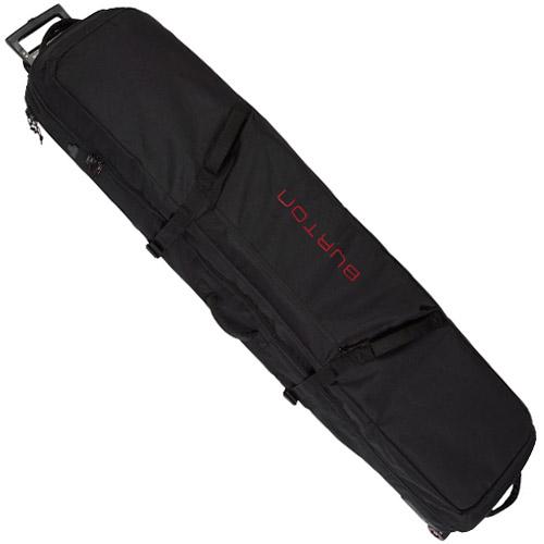【送料無料】 BURTON WHEELIE LOCKER True Black バートン ウィーリー ロッカー 国内正規品 スノーボード バッグ ボード ケース ウィール 旅行 トラベル 送料区分:L [SALE]