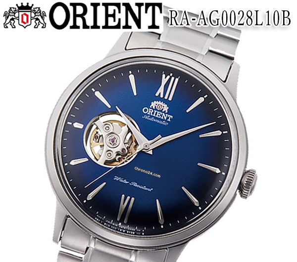 新品 送料無料 オリエント 腕時計 メンズ ORIENT RA-AG0028L10B 自動巻き グレー アナログ 時計 クラシック CLASSIC ブルーフェイス おすすめ モデル   ビジネス