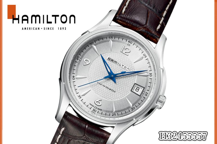 【新品】ハミルトン HAMILTON GENT メンズ レディース 腕時計 ジャズマスター H32455557 クォーツ アナログ カジュアル シンプル レザーベルト 人気 ブランド