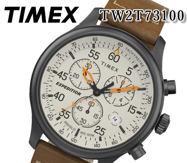 [送料無料] TIMEX タイメックス メンズ 腕時計 expedition field 43mm エクスペディション クロノ ミリタリー クオーツ アナログ メンズ TW2T73100 人気 おすすめ プレゼント