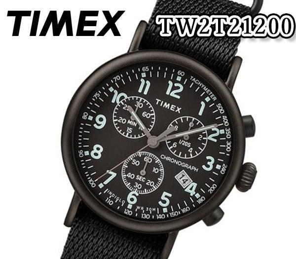 [送料無料] TIMEX タイメックス メンズ 腕時計 41mm メンズ スタンダード クロノ ミリタリー クオーツ アナログ スポーツ TW2T21200 人気 おすすめ プレゼント カーキ ナイロン