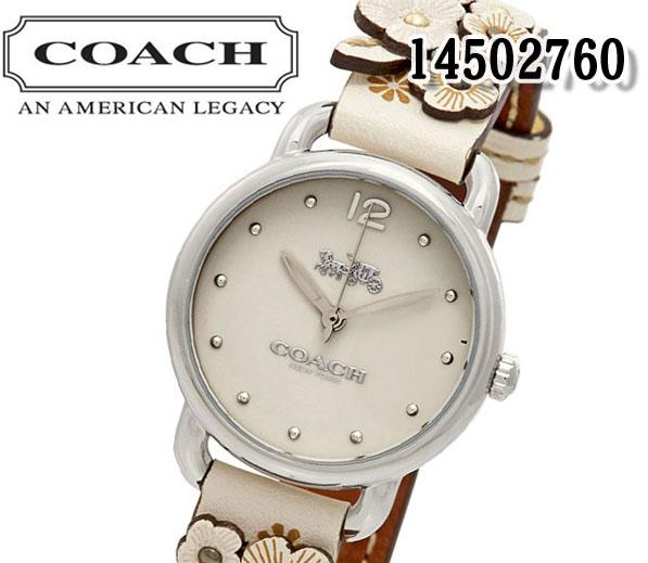 あす楽 送料無料 コーチ レディース 腕時計 COACH DELANCEY デランシー シグネチャー 14502760 フローラル プレゼント おすすめ アナログ クォーツ