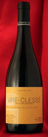 ヴィレ・クレッセ[2009]Vire Clesse750mlコント・ラフォンComtes Lafonフランス ブルゴーニュ ワイン 白