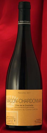 Comtes LafonMacon Chardonnay Clos de la Crochette[2011]750ml【送料無料】12本セット マコン・シャルドネ クロ・ド・ラ・クロシェット[2011]コント・ラフォンComtes Lafonフランス ブルゴーニュ ワイン 白