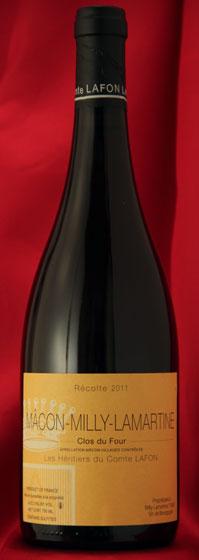 【送料無料】まとめ買い12本セット マコン・ミリー・ラマルティーヌ・クロ・デュ・フォール[2011]Macon Milly Lamartine Clos du Four750mlコント・ラフォンComtes Lafonフランス ブルゴーニュ ワイン 白