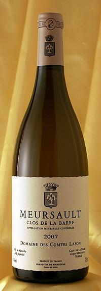 ムルソー クロ・ド・ラ・バール [2007]Meursault Clos de la Barre 750mlコント・ラフォン Comtes Lafon