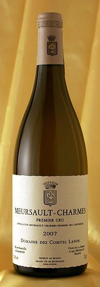 ムルソー シャルム [2007]Meursault Charmes 750mlコント・ラフォン Comtes Lafonフランス ブルゴーニュ ワイン 白