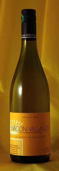 【送料無料】まとめ買い12本セット マコン・ヴィラージュ[2009]Macon Villages 750mlコント・ラフォンComtes Lafonフランス ブルゴーニュ ワイン 白
