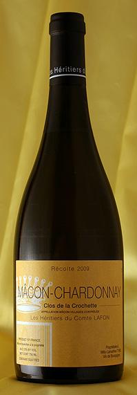 【送料無料】まとめ買い12本セット マコン・シャルドネ クロ・ド・ラ・クロシェット[2009]Macon Chardonnay Clos de la Crochette750mlコント・ラフォンComtes Lafonフランス ブルゴーニュ ワイン 白