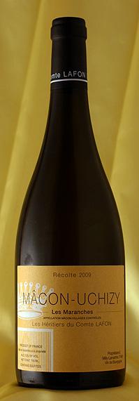 Comtes LafonMacon Uchizy les Maranches[2009]750ml【送料無料】12本セットト マコン・ウシジィ・レ・マランシュ[2009]750mlコント・ラフォンComtes Lafonフランス ブルゴーニュ ワイン 白