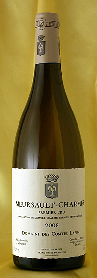 ムルソー シャルム [2008]Meursault Charmes 750mlコント・ラフォン Comtes Lafonフランス ブルゴーニュ ワイン 白