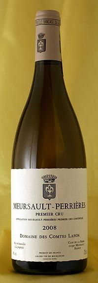 ムルソー ペリエール [2008]Meursault Perrieres 750mlコント・ラフォン Comtes Lafonフランス ブルゴーニュ ワイン 白