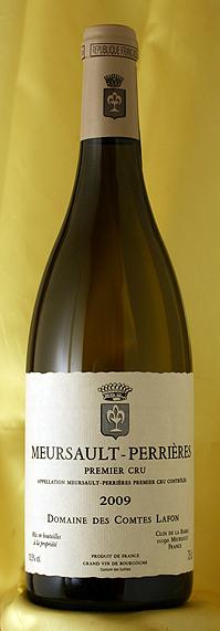 ムルソー ペリエール [2009]Meursault Perrieres 750mlコント・ラフォン Comtes Lafonフランス ブルゴーニュ ワイン 白