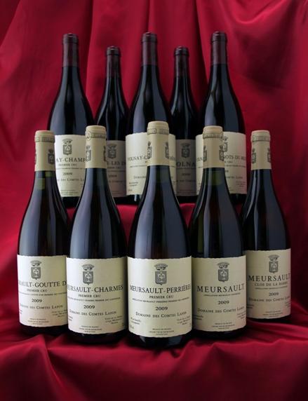 通常よりも約15%お得! コント・ラフォン[2009] 10本水平セット!コント・ラフォン Comtes Lafonフランス ブルゴーニュ ワイン