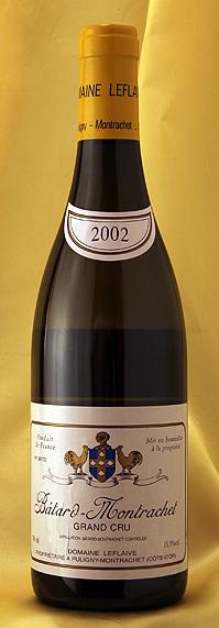 バタール・モンラッシェ[2002] Batard Montrachet 750mlルフレーヴ Leflaiveフランス ブルゴーニュ ワイン 白