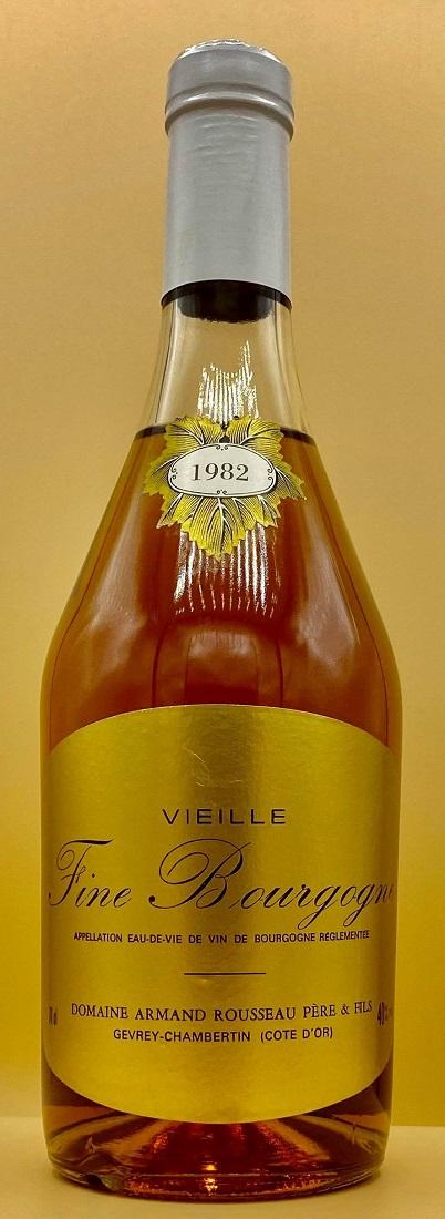 Armand RousseauFine de Bourgogne [1982]750mlフィーヌ・ド・ブルゴーニュ[1982]750mlアルマン・ルソー大変レアなルソーのフィーヌです。
