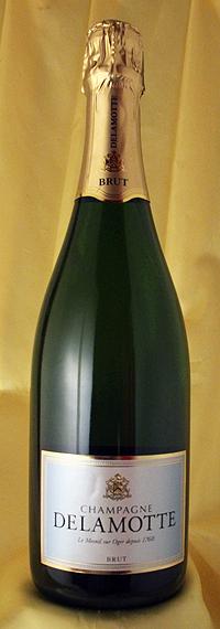 3本セット!蔵出し [NV] ブリュット Brut 750mlドゥラモット Delamotteフランス シャンパン ワイン スパークリング