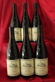 Ch.de St Cosme Gigondas 垂直6本セットCotes du Rhone フランス ローヌ ワイン セット