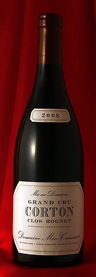 Meo CamuzetCorton Clos Rognet Grand Cru[2008]750mlコルトン・クロ・ロニェ[2008]750mlメオ・カミュゼ Meo Camuzet