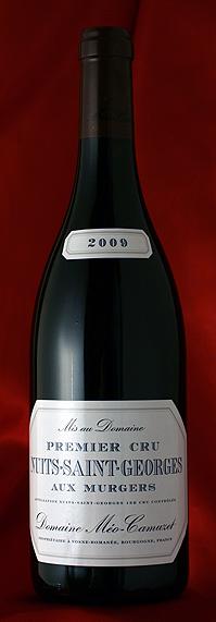 ニュイ・サン・ジョルジュ・オー・ミュルジュ[2009] Nuits St.Georges Aux Murgers 750mlメオ・カミュゼ Meo Camuzetフランス ブルゴーニュ ワイン 赤