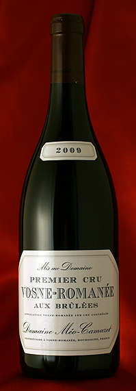 Meo CamuzetVosne Romanee Aux Brulees [2007]750mlヴォーヌ・ロマネ・1級・オーブリュレ[2007]750mlメオ・カミュゼ Meo Camuzet